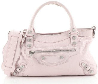 Balenciaga First Giant Studs Bag Leather