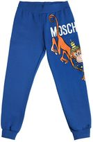 Moschino Monkey Print Cotton Sweatpants