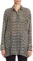 Akris Punto Women's Wool Button-Front Tunic