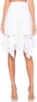 Lucy Paris x REVOLVE Crochet Skirt