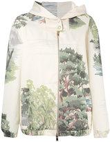 Stella McCartney Jay landscape print jacket - women - Cotton/Polyester - 40