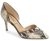 Sam Edelman Women's 'Telsa' D'Orsay Pointy Toe Pump