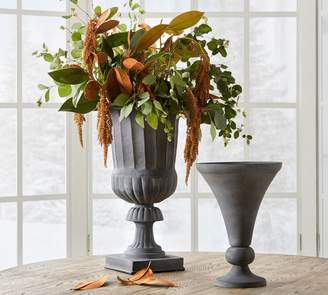 Pottery Barn Zinc Urn Collection