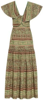 Johanna Ortiz Subcultural Enemies poplin dress