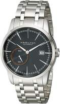 Hamilton Men's H40515131 Timeless Class Analog Display Automatic Self Wind Silver Watch