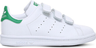adidas Girls White Stan Smith Leather Trainers, Size: EUR 31.5 /13 UK KIDS