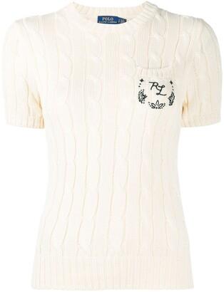 Polo Ralph Lauren Cable-Knit Cotton Top
