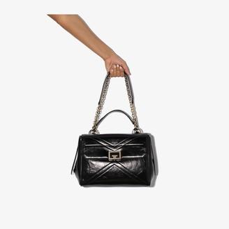 Givenchy black ID medium leather shoulder bag