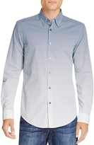BOSS Rodney Ombré Grid Slim Fit Button Down Shirt