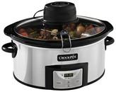 Crock Pot Crock-Pot® 6 Qt. Digital Slow Cooker with iStir Stirring System - SCCPVC600AS-P