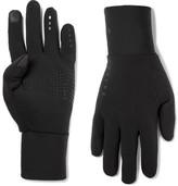 FALKE Ergonomic Sport System - Run Brushed Stretch-jersey Gloves - Black