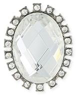 Z Designs Crystal Post Earrings