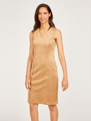 J.Mclaughlin Dominique Faux Suede Dress