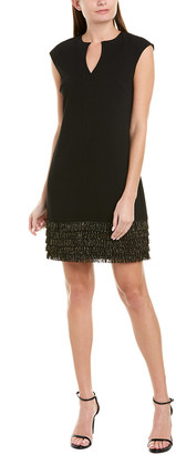 Trina Turk Flapper Sheath Dress