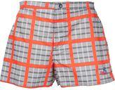 Vivienne Westwood 'Capri' board shorts - unisex - Silk/Cotton/Polyamide/Spandex/Elastane - S/M
