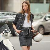 SandroSandro High-Waisted Skirt With Belt