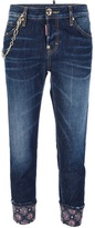 DSquared DSQUARED2 cropped washed jean