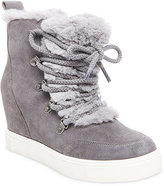 Steve Madden Women's Lift Lace-Up Wedge Sneakers