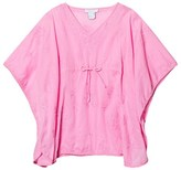 Elizabeth Hurley Pink Embroidered Cupid Cover Up