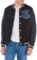 Diesel Color Block Letterman Jacket