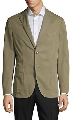 Boglioli Standard-Fit Stretch Cotton Twill Sport Jacket