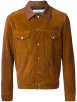 Golden Goose Deluxe Brand suede classic jacket - men - Calf Leather/Polyester/Viscose - M