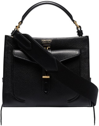 Tom Ford Mini Top Handle Leather Shoulder Bag