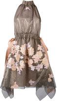 Fendi halterneck floral dress