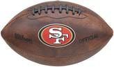 Wilson San Francisco 49ers Throwback Football