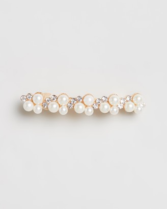 Johnny Loves Rosie Jewel Pearl Hair Clip