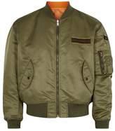 Kent & Curwen Blyton Reversible Satin Bomber Jacket
