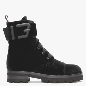 Roberto Festa Toronto Black Velvet Ankle Boots