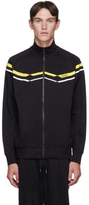 HUGO Black Duxi Zip-Up Sweatshirt