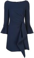 Jonathan Simkhai ruffle trim short dress
