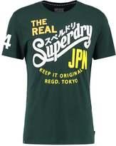 Superdry Print Tshirt Enamel Green