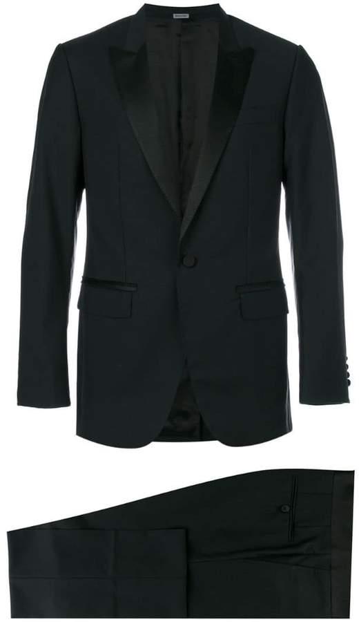Lanvin silk lapel two-piece suit