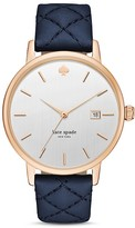 Kate Spade Metro Grand Leather Strap Watch, 38mm