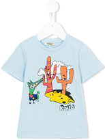 Kenzo cartoon logo T-shirt