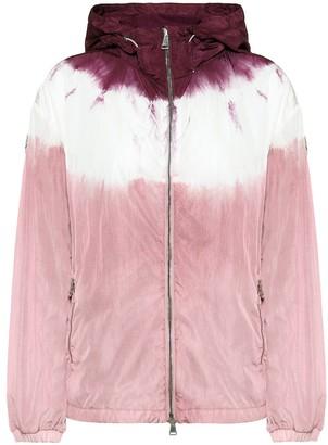 Moncler Tie-dye technical jacket