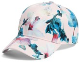 Collection XIIX Women's Tropical Print Baseball Cap - Pink