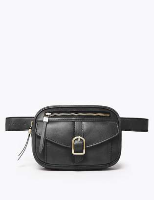 Marks and Spencer Leather Bum Bag