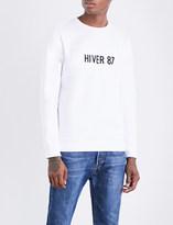 A.P.C. Hiver 87 cotton-jersey sweatshirt