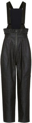 Tibi Denim overalls