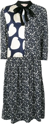 Marni Patterned Midi Dress