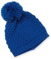 Portolano Ribbed Pom Hat
