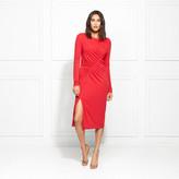 Rachel Zoe Fabiana Stretch Jersey Midi Dress