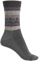 Lorpen Outdoor Lifestyle Fair Isle Socks - Merino Wool Blend, Crew (For Women)
