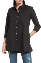 Bobeau Women's Poplin Shirt