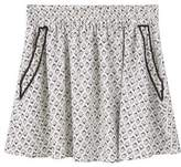 Mango Outlet Flowy printed skirt