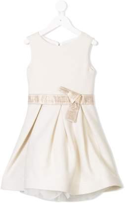 Miss Grant Kids rhinestone embellished dress